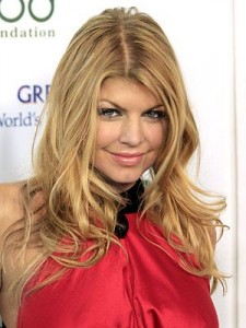 fergie 225x300 Fergies Blonde Hair
