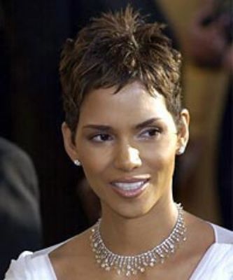 Halle Berry Short Hairstyles 22 easy short hairstyles for african american women Directions For Halle Berry S Hairstyle Directions To Get Halle Berry S Haircut F Hairstyle Halle Barry Short Hair Cut Jet Black Halle Berry Halle Berry Easy