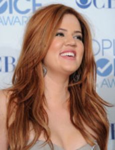 Khloe Kardashian Long Hairstyles, khloe kardashian hair color, khloe kardashian pictures, Khloe Kardashian's Hairstyle With Ban