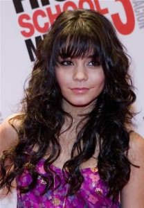 vanessa3 208x300 Hairstyles 101 from Vanessa Hudgens
