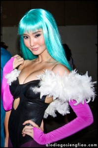 alodia in aqua wig 198x300 Alodia Gosiengfiao: The Cosplay Queen's Hairstyles