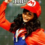 alodia in mario suit