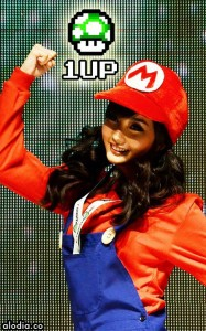 alodia in mario suit 187x300 Alodia Gosiengfiao: The Cosplay Queen's Hairstyles