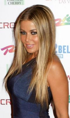Carmen Electra Wedding Hairstyle on Carmen Electra   S Straight Hairstyle Carmen Electra     Last Hair