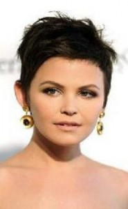ginnifer goodwin 185x300 Ginnifer Goodwins Brunette Hairstyle