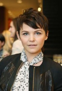 ginnifer goodwin5 205x300 Ginnifer Goodwins Brunette Hairstyle
