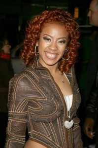 keyshia cole22 199x300 Keyshia Cole Red Ringlets