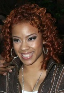 keyshia cole32 206x300 Keyshia Cole Red Ringlets
