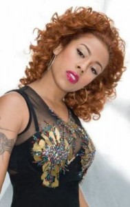 keyshia cole52 189x300 Keyshia Cole Red Ringlets