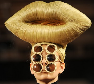weird hairstyle. Weird Hair for Art »