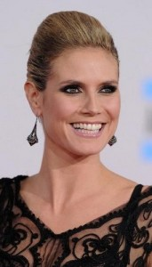 heidi klum2 171x300 Heidi Klums Voluminous Updo
