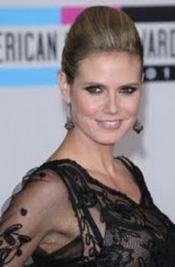 heidi klum5 197x300 Heidi Klums Voluminous Updo