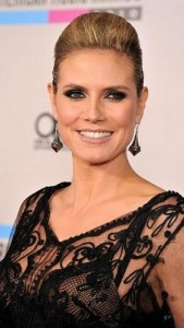 heidi klum6 169x300 Heidi Klums Voluminous Updo