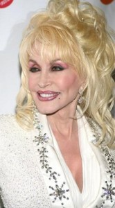dolly parton2 166x300 Dolly Partons Hairstyle With Bangs