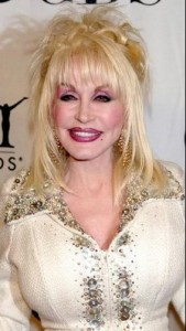 dolly parton6 169x300 Dolly Partons Hairstyle With Bangs