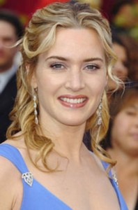 kate winslet6 198x300 Kate Winslets Half Updo