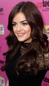 lucy hale2 170x300 Lucy Hales Wavy Hairstyle