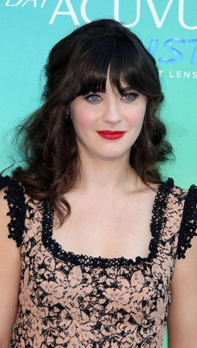 Zooey Deschanel Last Hair Models Styles