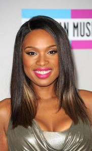 jennifer hudson 182x300 Jennifer Hudsons Straight Hairstyle