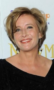 emma thompson 180x300 Emma Thompsons Short Hairstyle