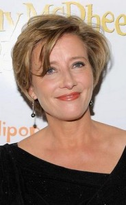 emma thompson5 184x300 Emma Thompsons Short Hairstyle