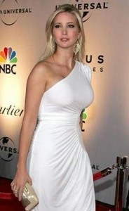 ivanka trump3 184x300 Ivanka Trumps Straight Hairstyle