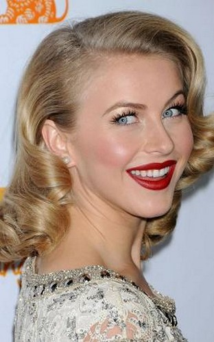 Fantastic Julianne Hough39S Medium And Curly Hairstyle Last Hair Models Short Hairstyles For Black Women Fulllsitofus