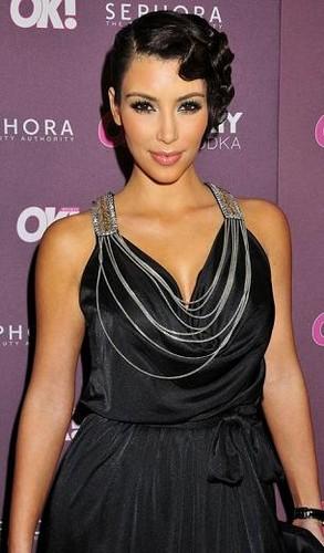 Excellent Kim Kardashian39S Finger Wave Last Hair Models Hair Styles Short Hairstyles Gunalazisus