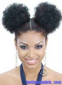 afro puff 220x300 Afro Puff Hairstyle