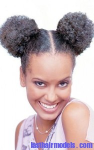 afro puff3 188x300 Afro Puff Hairstyle