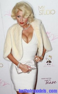 paris hilton 187x300 Hairstyle With Monroe Curls