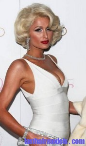paris hilton2 177x300 Hairstyle With Monroe Curls