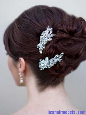 AA S2348 mscu2 vintage inspired bridal hair clip Using crystal hairpins: Make the best of gems!!