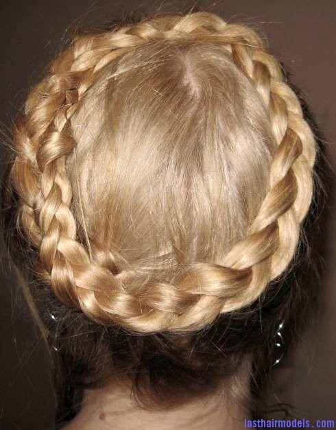 Crown Braid Hairstyle 1 The 'Heidi' braid: The crown braid hairstyle