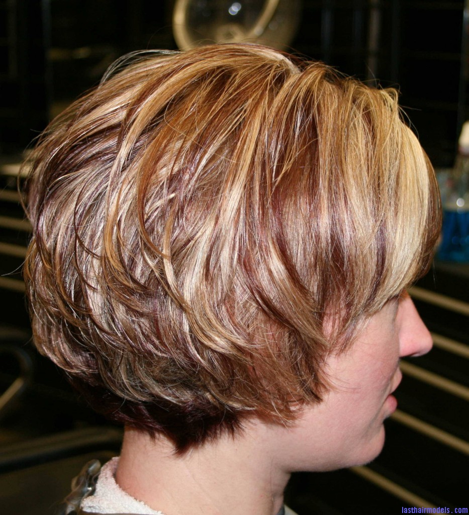 IMG 1591 933x1024 Layered short bob: Create your attitude!!