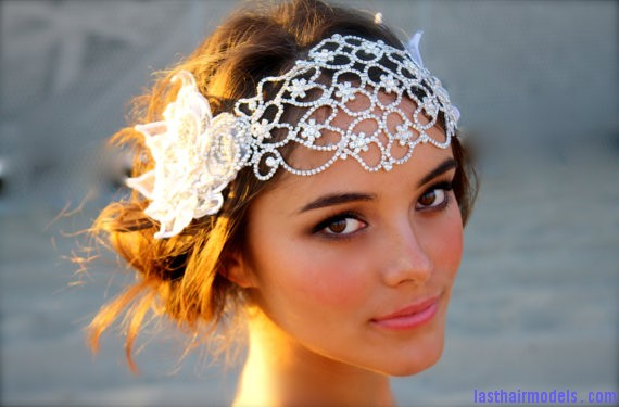 Juliet Headpiece1 Crystal head wraps: Perfect hair accessory for your wedding