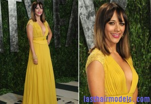 Rashida Jones In Elie Saab 2012 Vanity Fair Oscar Party 300x206 Rashida Jones In Elie Saab 2012 Vanity Fair Oscar Party