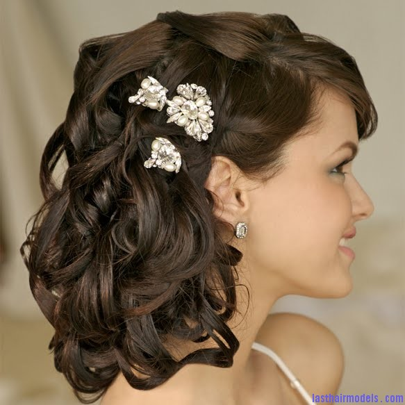 Wedding Hairstyles 410 Wedding on the row: different wedding hairstyles.