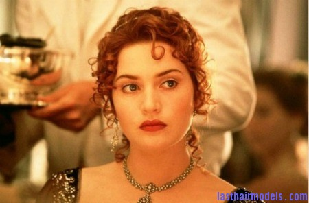 a0ec4  winslet titanic 12 Kate Winslets Titanic hair style: Red haired curly updo