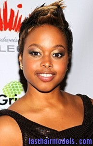 chrisette michele1 193x300 Short Fohawk