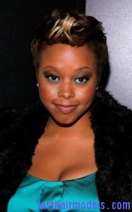 chrisette michele41 187x300 Short Fohawk