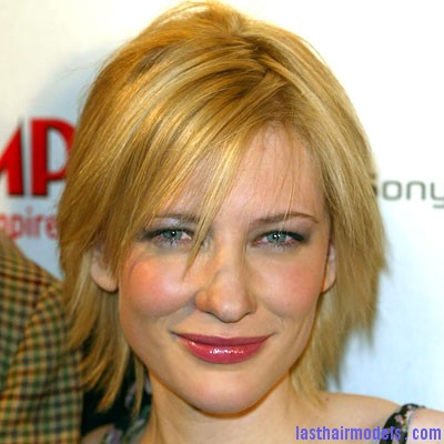 girls layered hairstyle ideas Cate Blanchett in a layered chin length bob hairstyle Layered short bob: Create your attitude!!