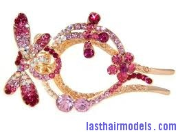 images2 Using crystal hairpins: Make the best of gems!!