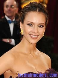 images6 Jessica Alba's two braids in style: The messy outlook for the perfect party!