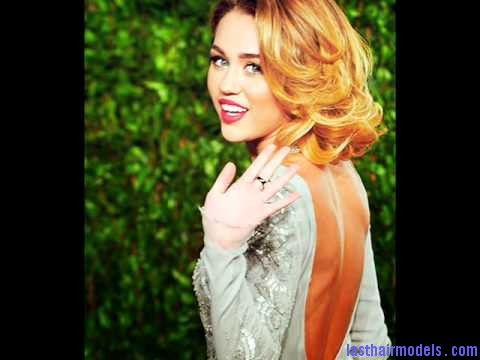 miley cyrus shoulder length bob hairdo lady in panache