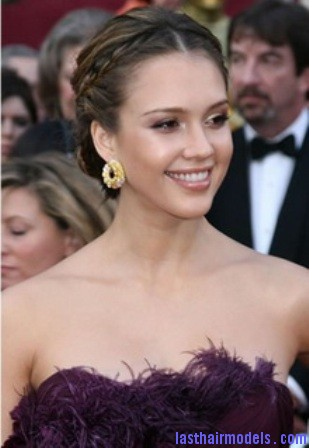 jessica alba Jessica Alba's two braids in style: The messy outlook for the perfect party!