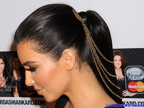 kim kardashian 500x375 Hair chains!!: A new thing to experiment with!