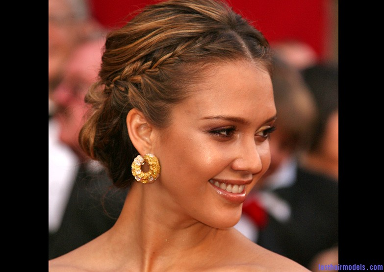 or f3b2980b127082503812467 Jessica Alba's two braids in style: The messy outlook for the perfect party!