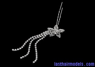 pd323486 crystal rhinestone wedding bridal crystal hair pins with metal alloy 2 8 long for women Using crystal hairpins: Make the best of gems!!