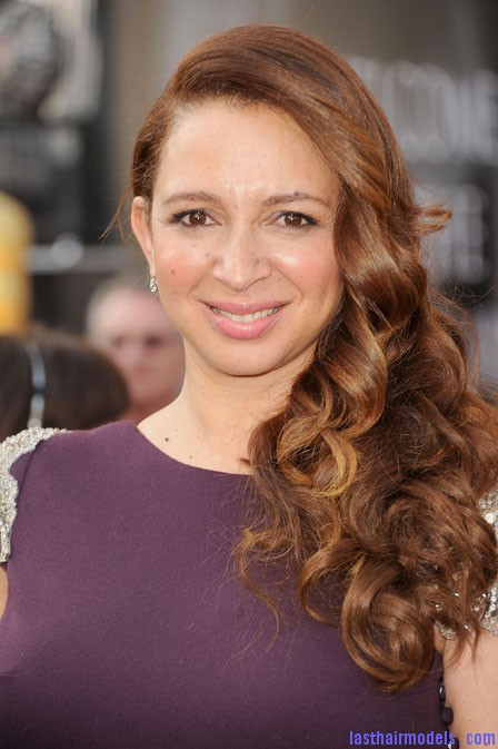 0227 maya rudolph hair oscars bd Maya Rudolph's side curls: Making a statement of their own.